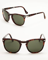 Persol Folding Keyhole Sunglasses