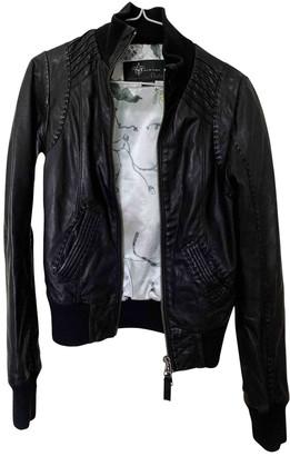 Mackage Black Leather Jacket for Women