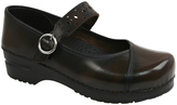 Sanita Brown Alyssa Leather Clog - Women