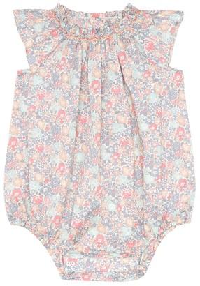 Bonpoint Baby Loula floral cotton onesie