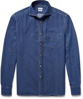 Brunello Cucinelli - Slim-fit Denim Shirt