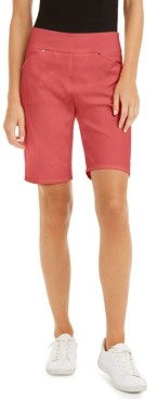 INC International Concepts Inc Petite Bermuda Shorts, Created for Macy's