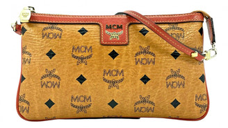 MCM Brown Leather Clutch bags