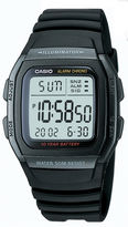 Casio Mens Black Square Digital Watch W96H-1BVOS