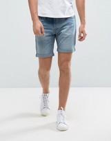 Selected Slim Fit Denim Short