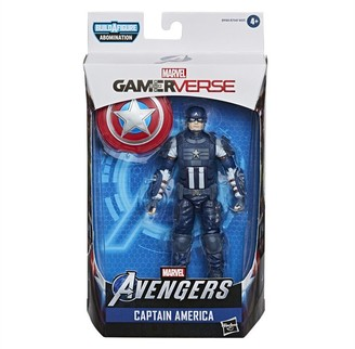 Marvel Hasbro Legends Series Gamerverse 6-inch Collectible Captain America Action Figure Toy, Ages 4 And Up