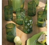 Mondo Glass Tumblers - Set of 6