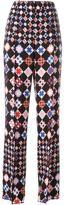 Emilio Pucci geometric print trousers - women - Acetate/Viscose - 38