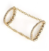 BaubleBar Double Linked Ice Ring