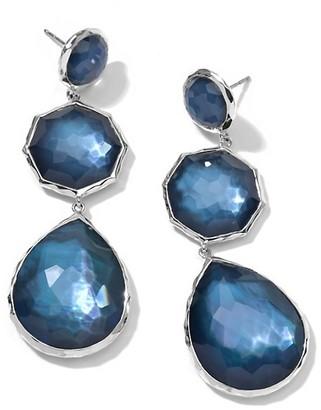 Ippolita Wonderland Sterling Silver & Doublet Crazy 8's Drop Earrings
