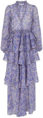 Shona Joy Drawstring Maxi Garner Dress