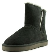 Style&Co. Style & Co Ciley Women Round Toe Suede Gray Ankle Boot.