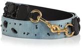 Marc Jacobs Denim Stone-Embellished Handbag Strap