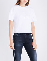 Calvin Klein Teco-1 cotton-jersey T-shirt