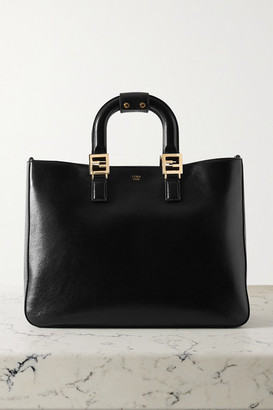 Fendi Leather Tote - Black