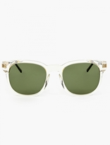 Thierry Lasry Clear Acetate Authority Sunglasses