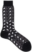 Ayame X The C53 Geometric Cotton Blend Socks