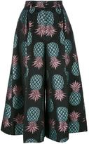 House of Holland Pineapple culottes - women - Cotton/Polyester - 6