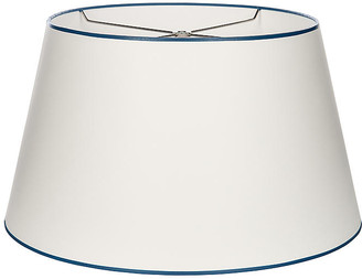 French Empire Lampshade - White/Navy - Bradburn Home
