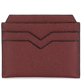 Valextra Logo Cardholder Wallet
