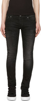 Nudie Jeans Black Long John Jeans