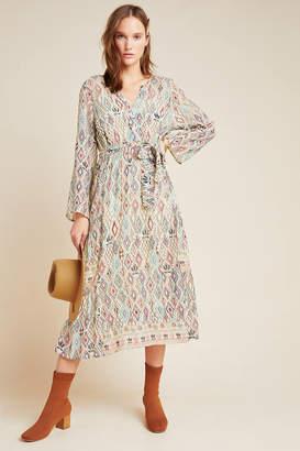 Velvet by Graham & Spencer Sharona Shimmer Midi Dress
