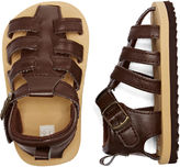 Carter's Brown Fisher Sandals - Kids 2-4