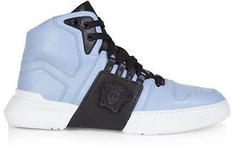 Mens Versace High Top Sneakers | Shop