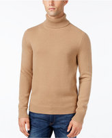 Michael Kors Men's Textured Cashmere Turtleneck