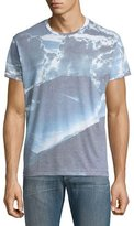 Sol Angeles Skylight Crewneck T-Shirt, Sky