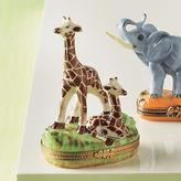 Giraffe with Baby Limoges Box