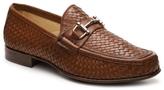 Mercanti Fiorentini Woven Bit Loafer