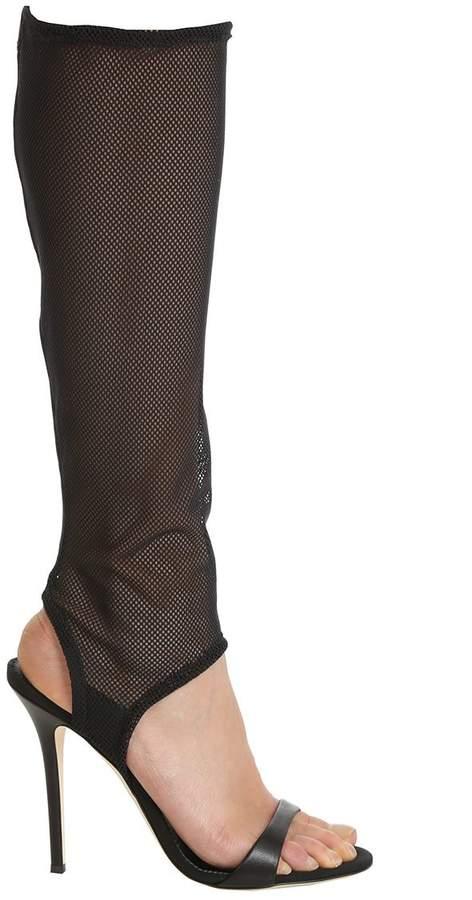 Giuseppe Zanotti Mesh Open Toe Sandals
