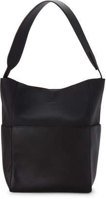Street Level Black Embossed Shoulder Bag