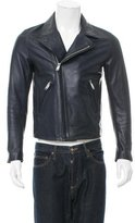 Sandro Leather Moto Jacket