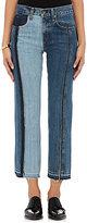Rag & Bone Women's 2 Tone Crop Jeans-PINK