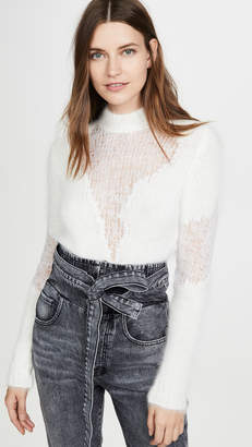 Unravel Project Wool Crew Neck Sweater