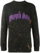 Palm Angels 'Purple Haze' sweatshirt - men - Cotton - S