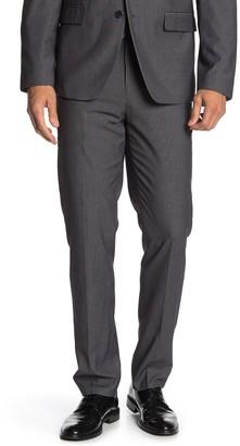 "Ben Sherman Dark Grey Solid Suit Separates Pants - 30-34"" Inseam"