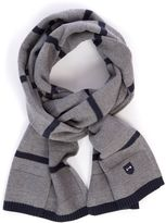 Eden Park Striped Textured Scarf