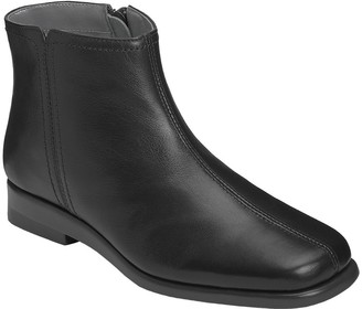 Aerosoles Casual Leather Ankle Boots - Double Trouble 2