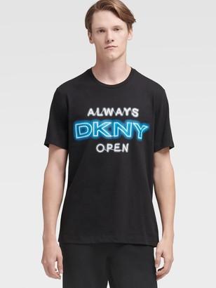 DKNY Neon Sign Logo Tee