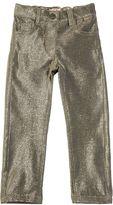 Il Gufo Stretch Lurex & Cotton Fleece Pants