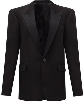 Pallas Paris - Genesis Single-breasted Peak-lapel Wool Jacket - Black