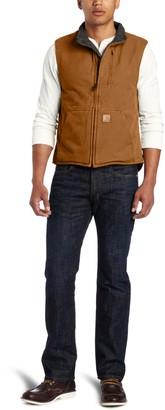 Carhartt Men's Sherpa Lined Mock Neck Vest