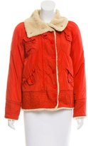 Marc Jacobs Faux Fur Quilted Jacket