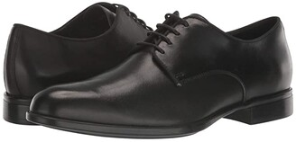 Geox Iacopo (Black Smooth Leather) Men's Shoes