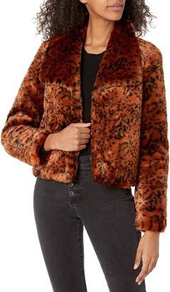 BB Dakota Women's Leopard Queen Jacket