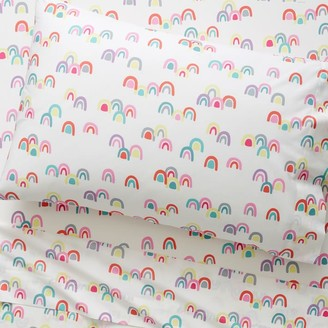 west elm Organic Rainbow Pillowcases