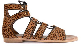 Mint Velvet Louisa Animal Gladiator Sandal